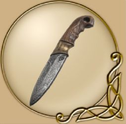 LARP Woodsman Knife